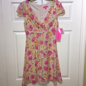 🆕🎀NEW-BETSEY JOHNSON DRESS WITH ROSES IS NEW🎀